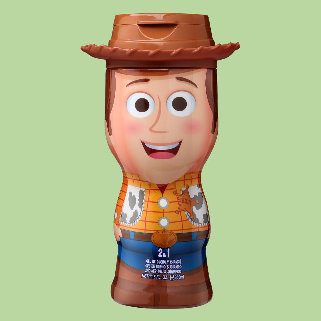 Woody Gel de Baño y Champú 2D