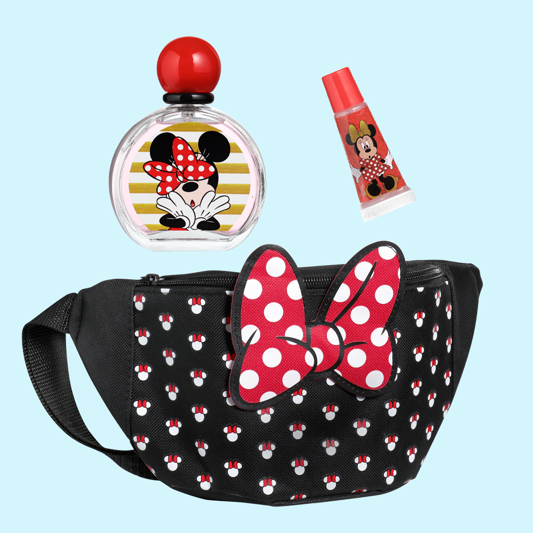 Belt bag with EDT & Lip Gloss