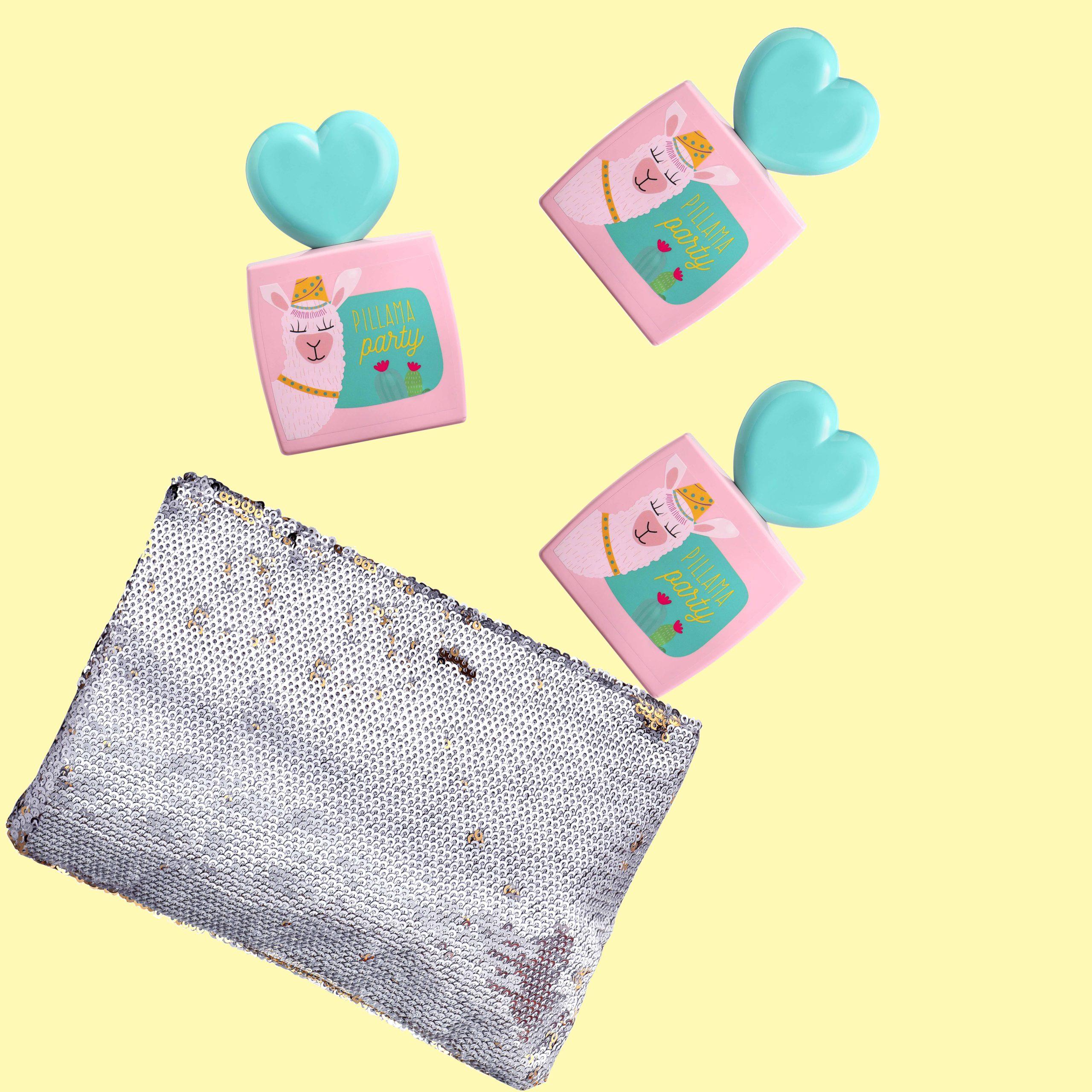 """Pillama Party"" Gift Set with EDT & Toilet Bag"