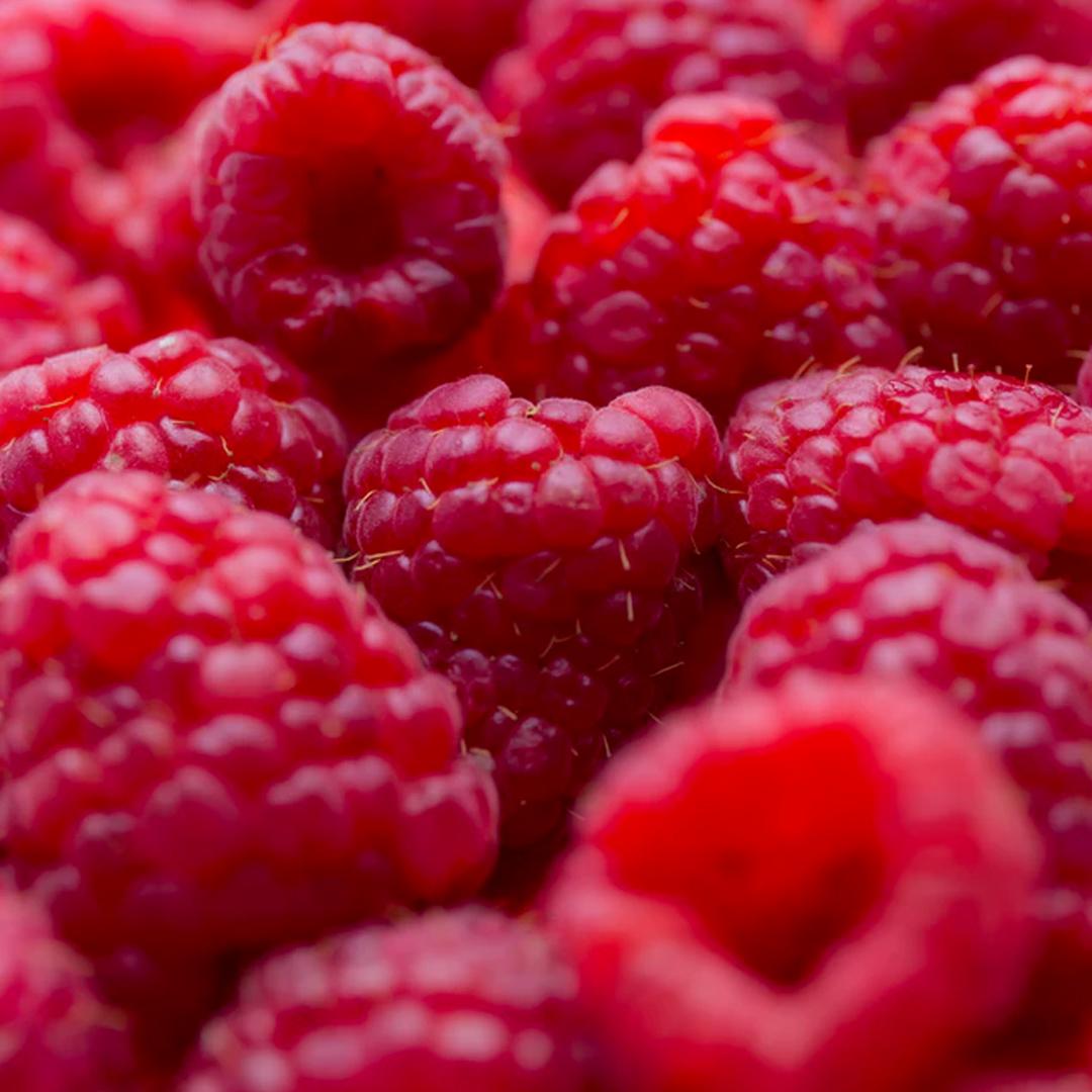 Raspberry - Heart note