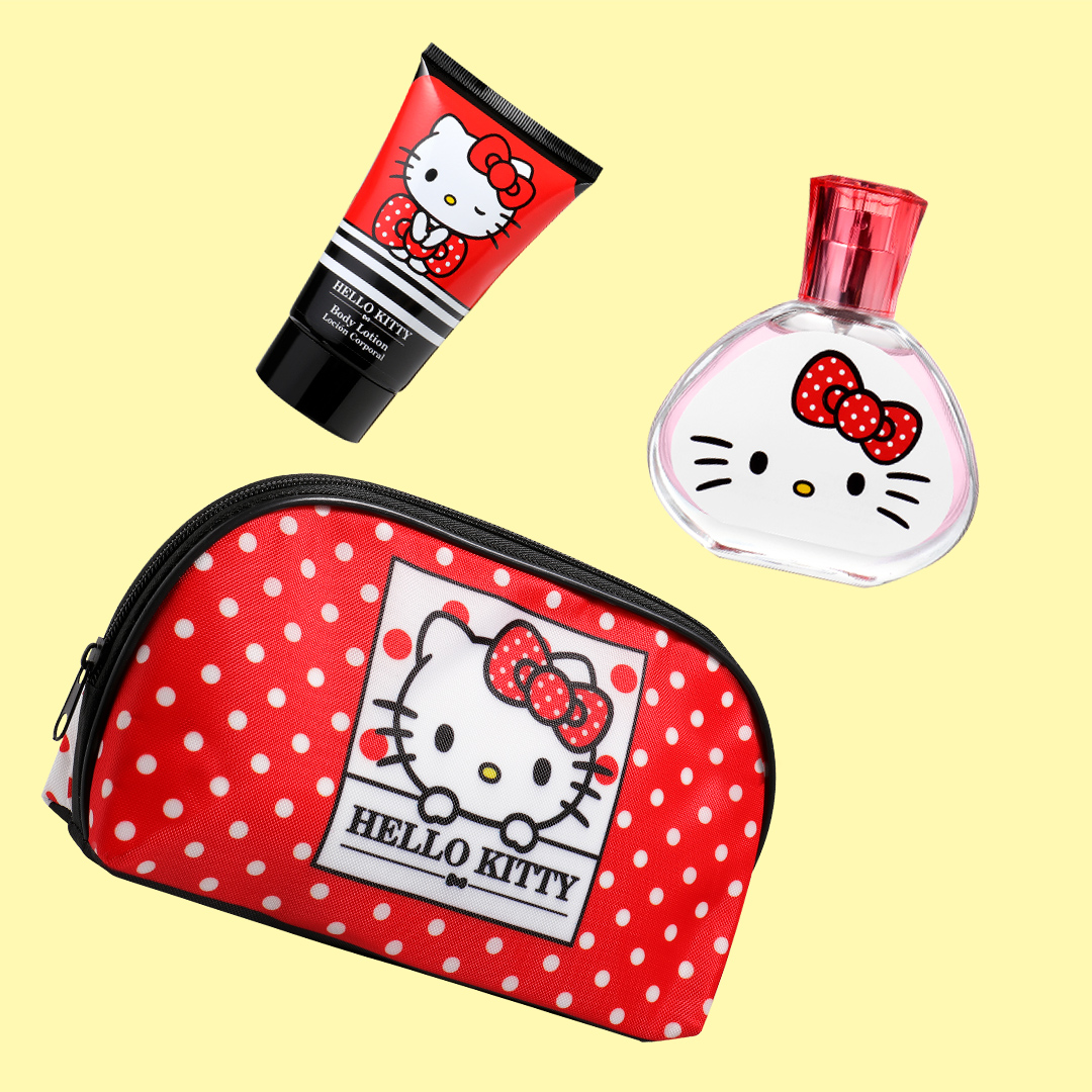 Toiletry Bag with EDT & Body Lotion