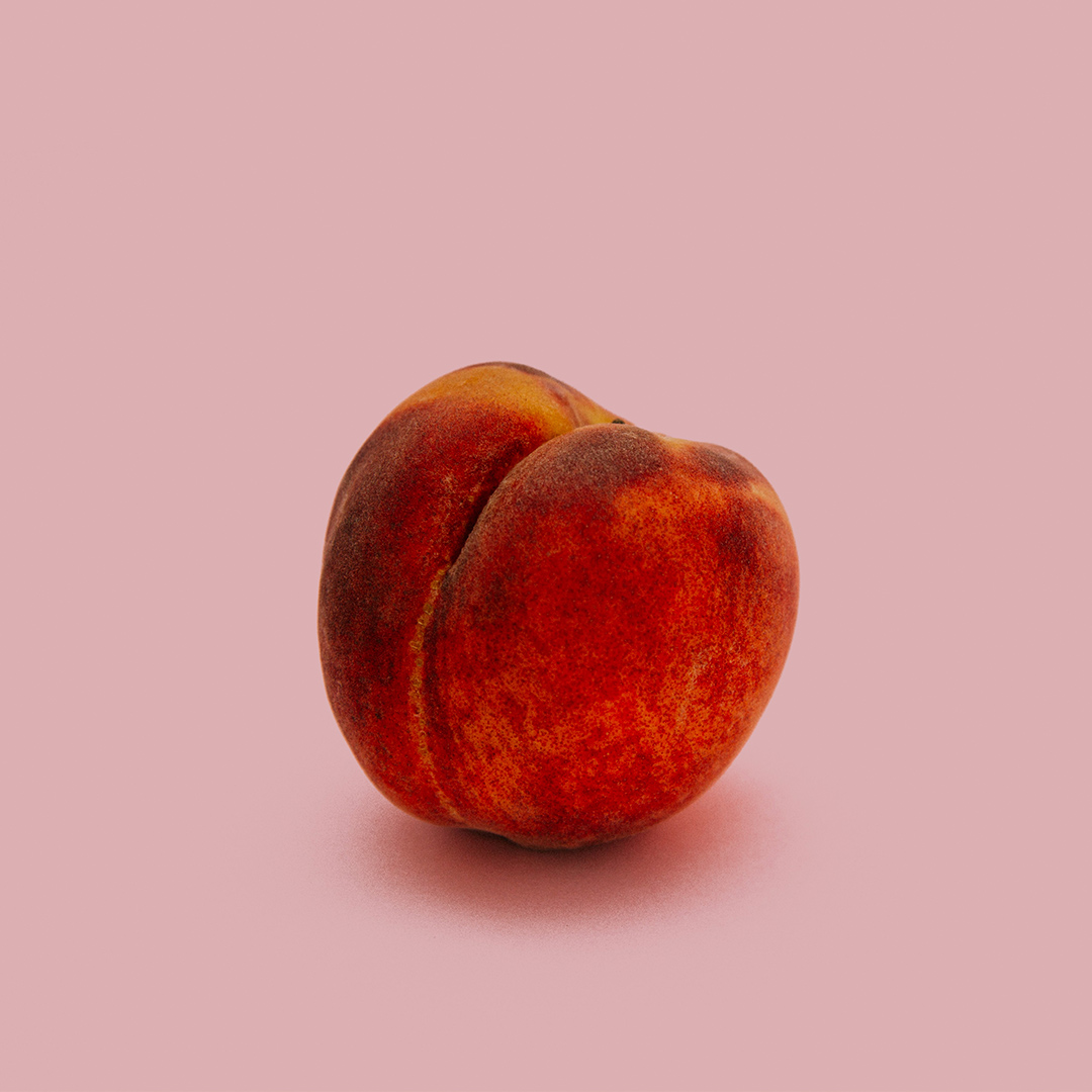 Peach - Heart note
