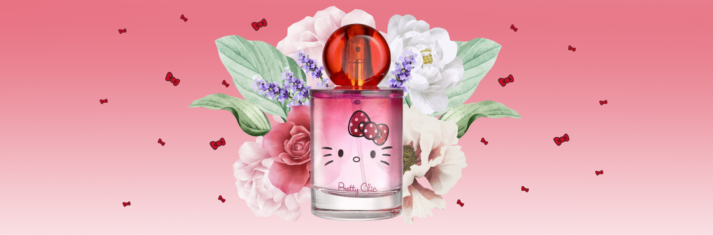 The Hello Kitty fragrances