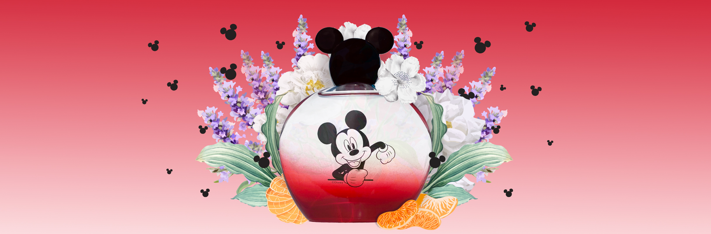 The Mickey Mouse fragrances