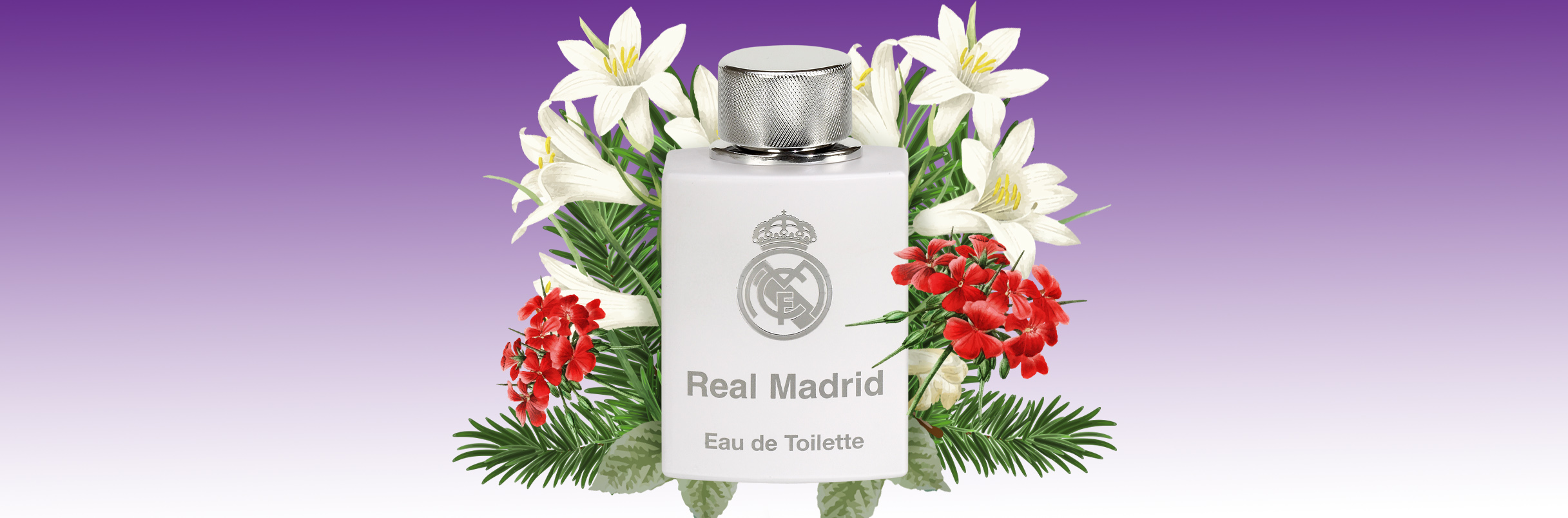 The Real Madrid fragrances