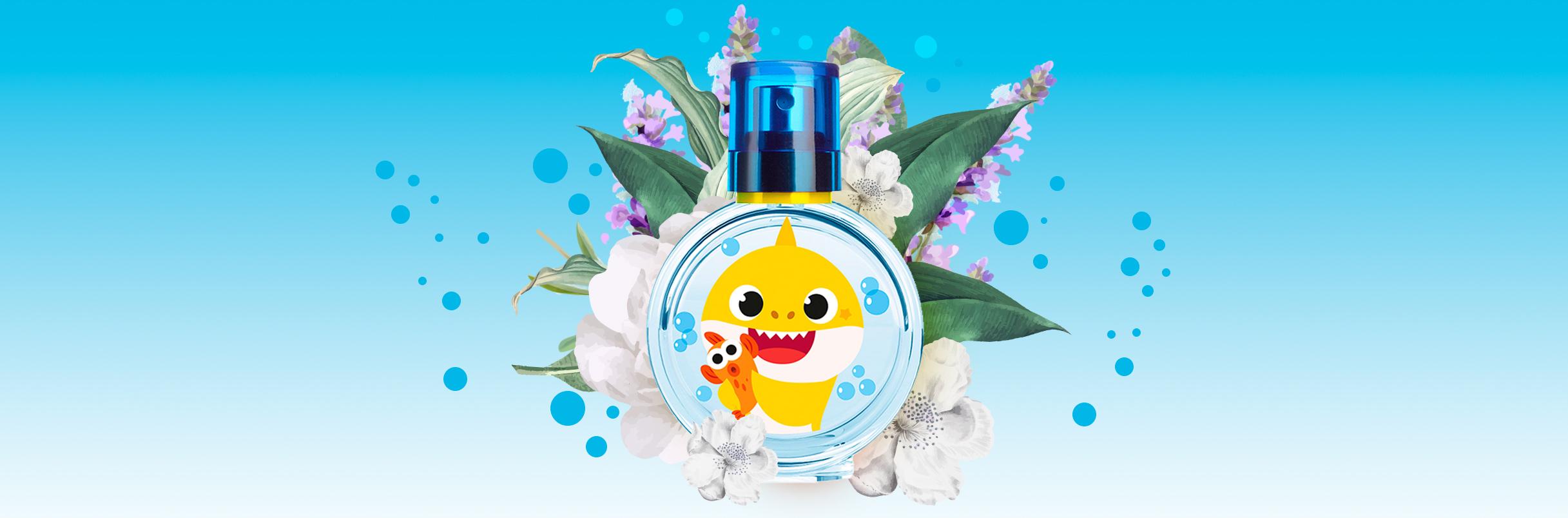 The Baby Shark fragrances