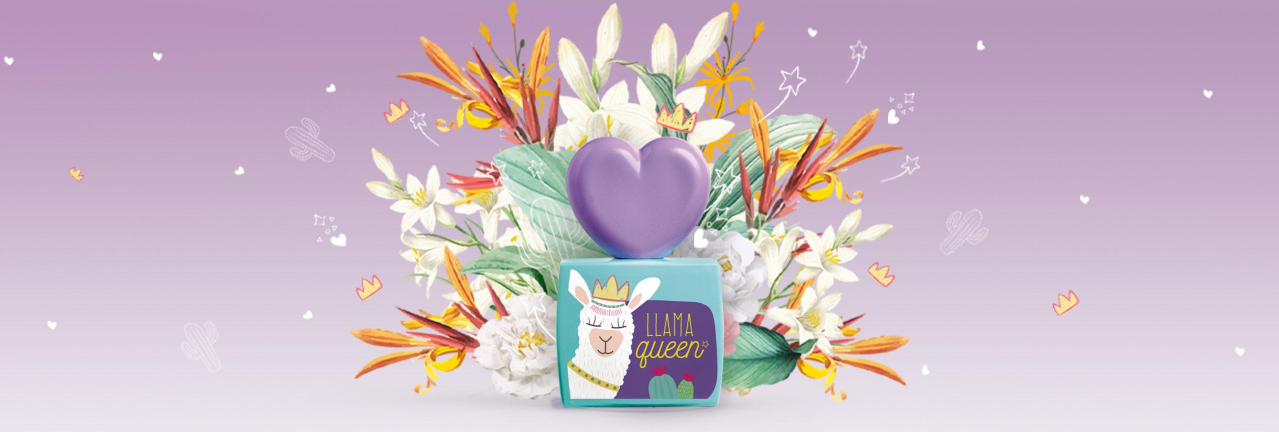 The Eau my Llama fragrances