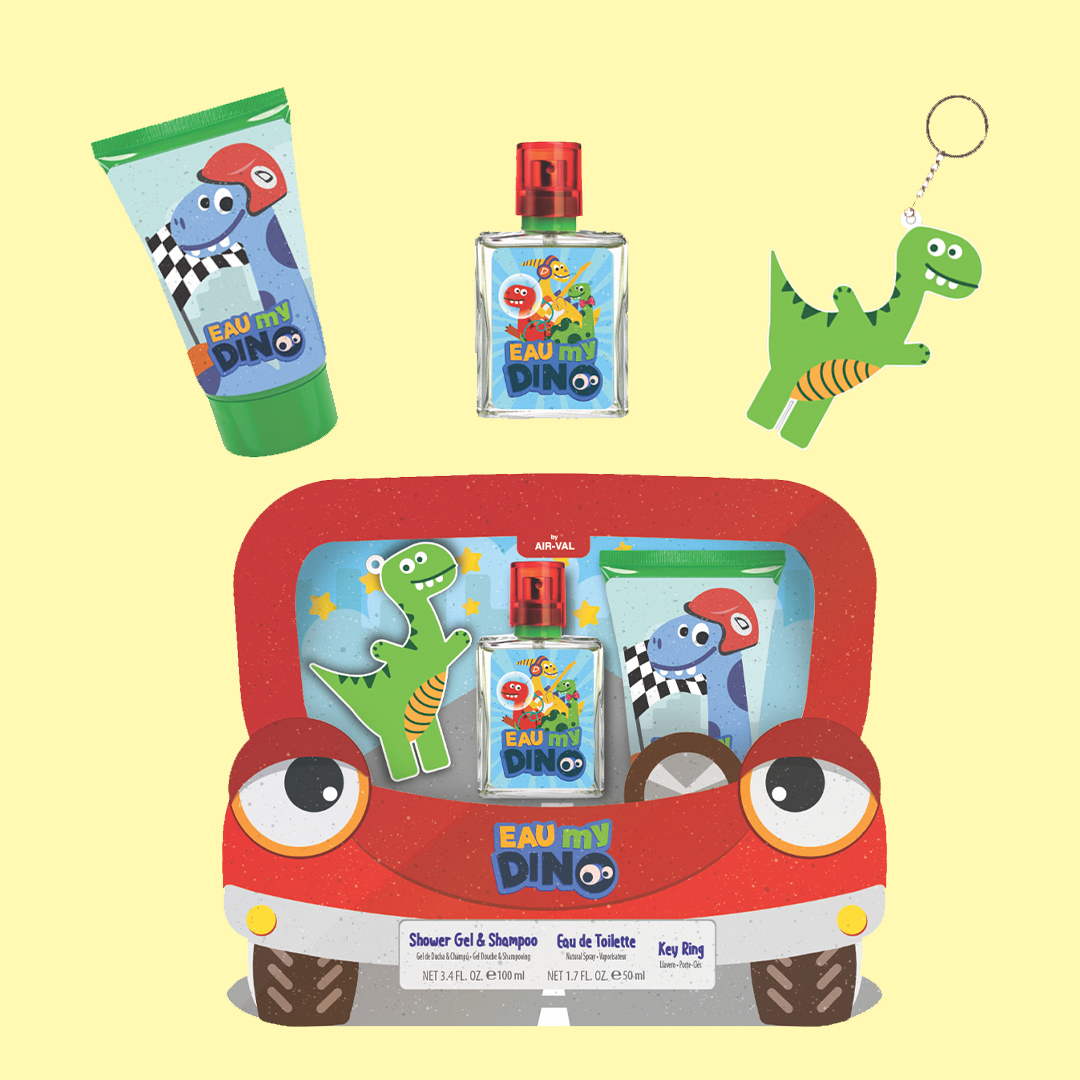 Gift Set with EDT, Key Ring and<br>Shower Gel & Shampoo